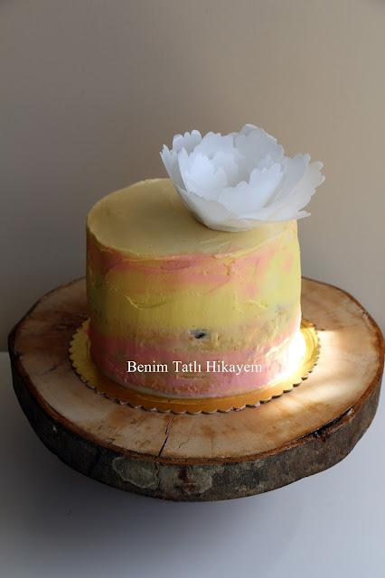 doğum günü pastası en şık pasta