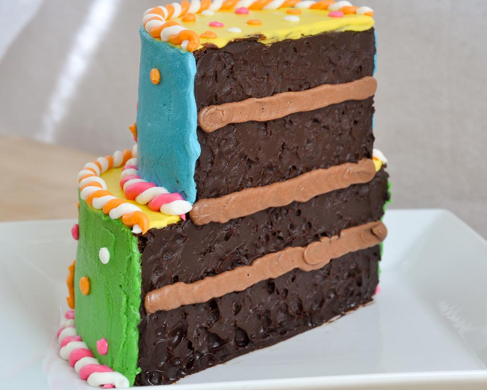 Beki Cooks Cake Blog Half Birthday Half Cake