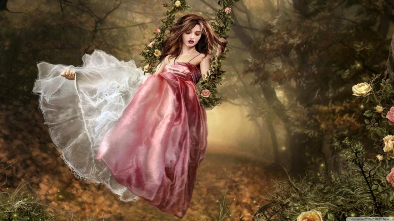 Fantasy beautiful girl in forest fantasy world fantasy world fantasy beautiful girl in forest fantasy world voltagebd Images