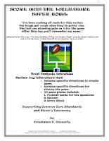 Comprehension Activity - Score With the Literature Super Bowl