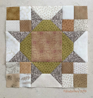 Allietare Bonnie Hunter Mystery Quilt 2015 - Part 6