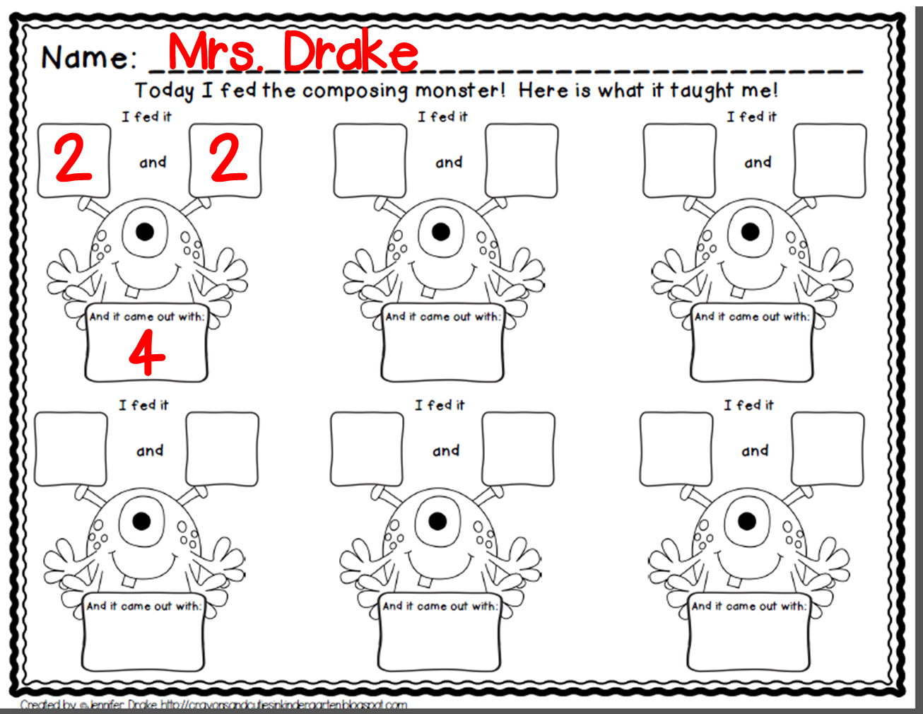 {Composing And Decomposing Numbers Worksheet Free Worksheets – Composing and Decomposing Numbers Worksheet