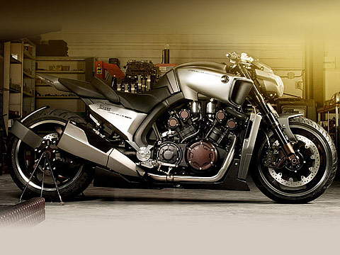 2013 Yamaha VMAX Hyper Modified Ludovic Lazareth Gamabr Motor , 480x360 pixels