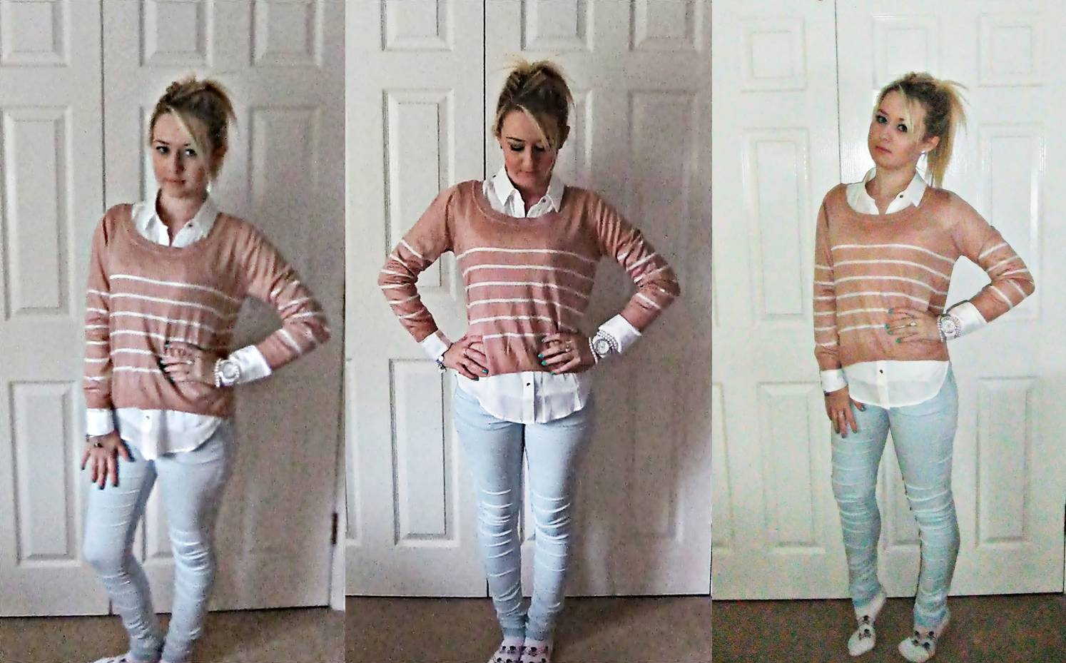 Tailored Days Ootd Sweater Blouse