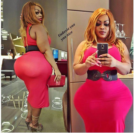 h0t photos of woman with the biggest bum in africa finally