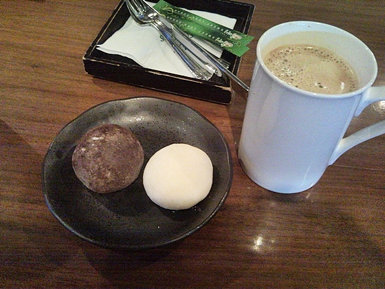 seoul cafe mochi ice cream coffee ichon