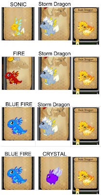 Dragonvale Sun Dragon Breeding Guide