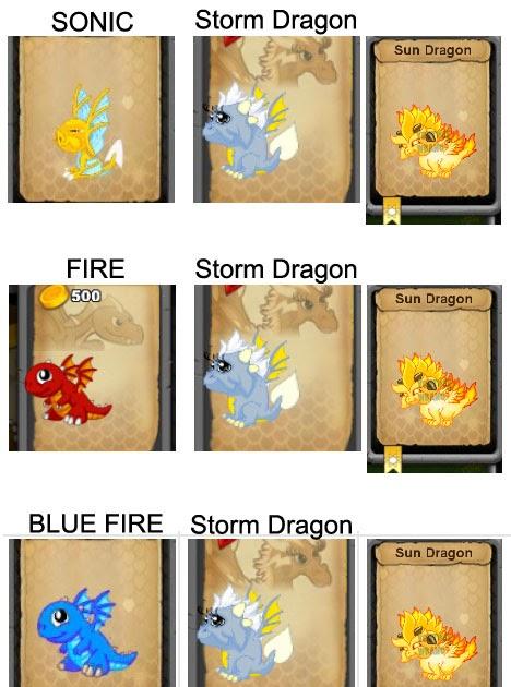 Dragonvale Sun Dragon Breeding Guide