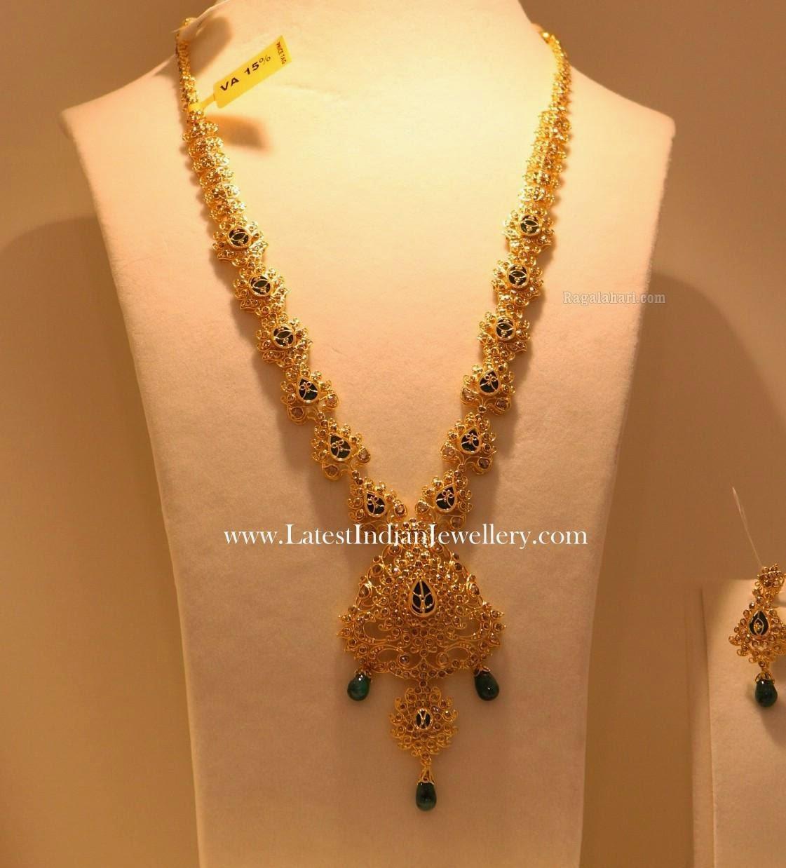 Uncut Diamond Haram Emerald Work