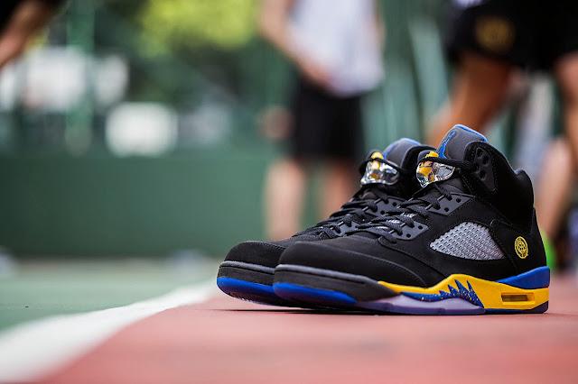 """Nike Air Jordan 5 """"Shanghai Shen"""""""