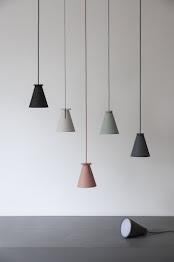 Lampa Bollard Menu - jasnoszara