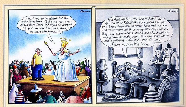 What Was The Final Far Side Comic Quora