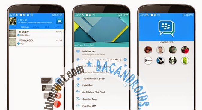 download apk mod BBM2  Blue New 2.7.0.21 Multi Pin