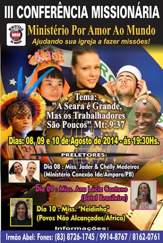III CONFERÊNCIA MISSIONÁRIA