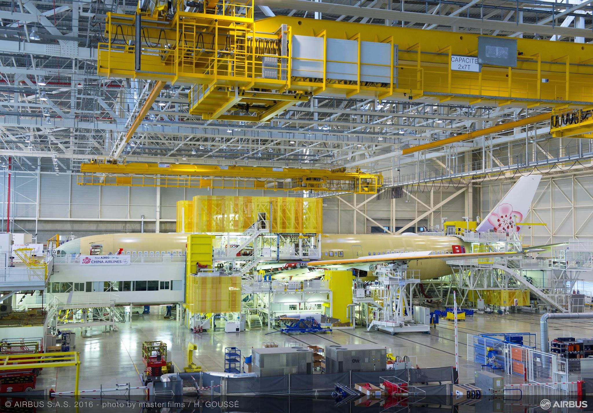 É MAIS QUE VOAR | Primeiro A350XWB da China Airlines ganha forma na Linha de Montagem Final da Airbus