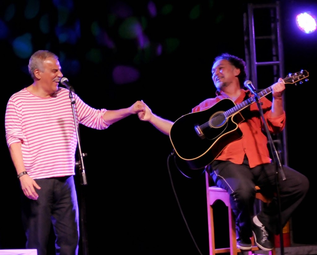 Show de Danilo Caymmi e Claudio Nucci marca abertura do Festival de Inverno em Teresópolis