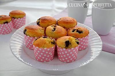 Muffin ai mirtilli: come servire i muffin