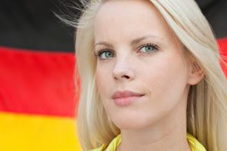 Chicas adolescentes alemanas rubias