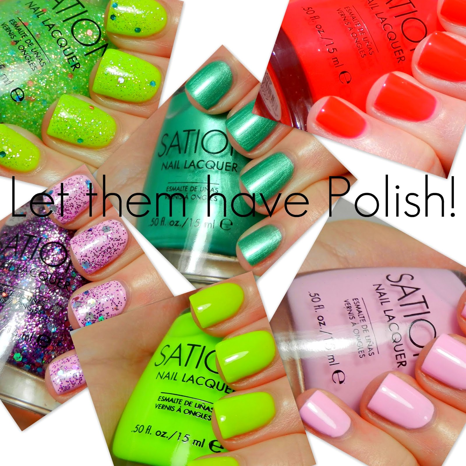 Sation Nail Polish: Let Them Have Polish!: Some Sation Class Of Sation Swatches
