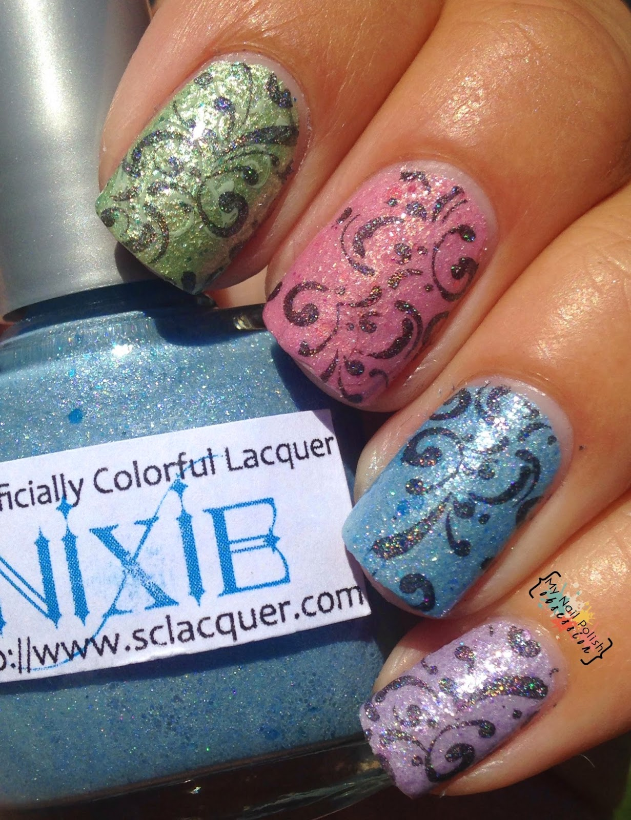 Superficially Colorful Lacquers Fairies and Sprites