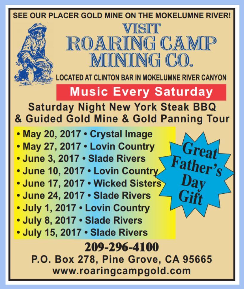 Summer 2017 at Roaring Camp