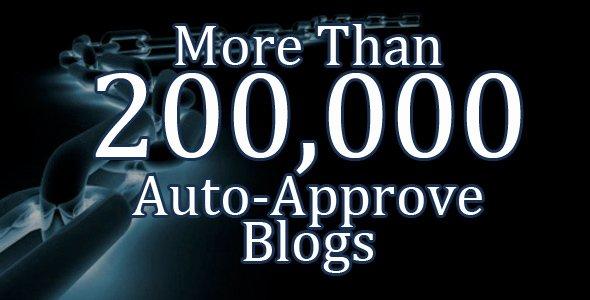 Auto-Approve Blogs