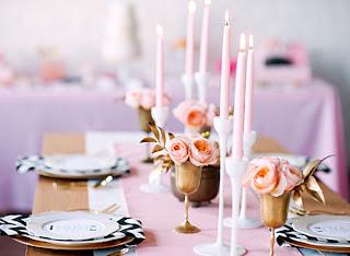 dekorasi+meja+pernikahan+pink Dekorasi meja pernikahan