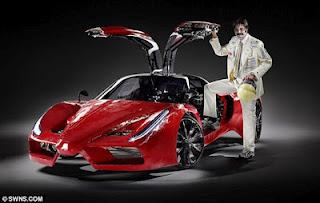 Sepeda Kayuh Bisa Diubah Menjadi Ferrari Ffx  dari daniel maulana