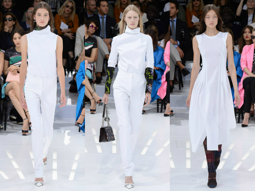 FASHION BY THE RULES: Christian Dior by Raf Simons.. Paris ..spring 2015