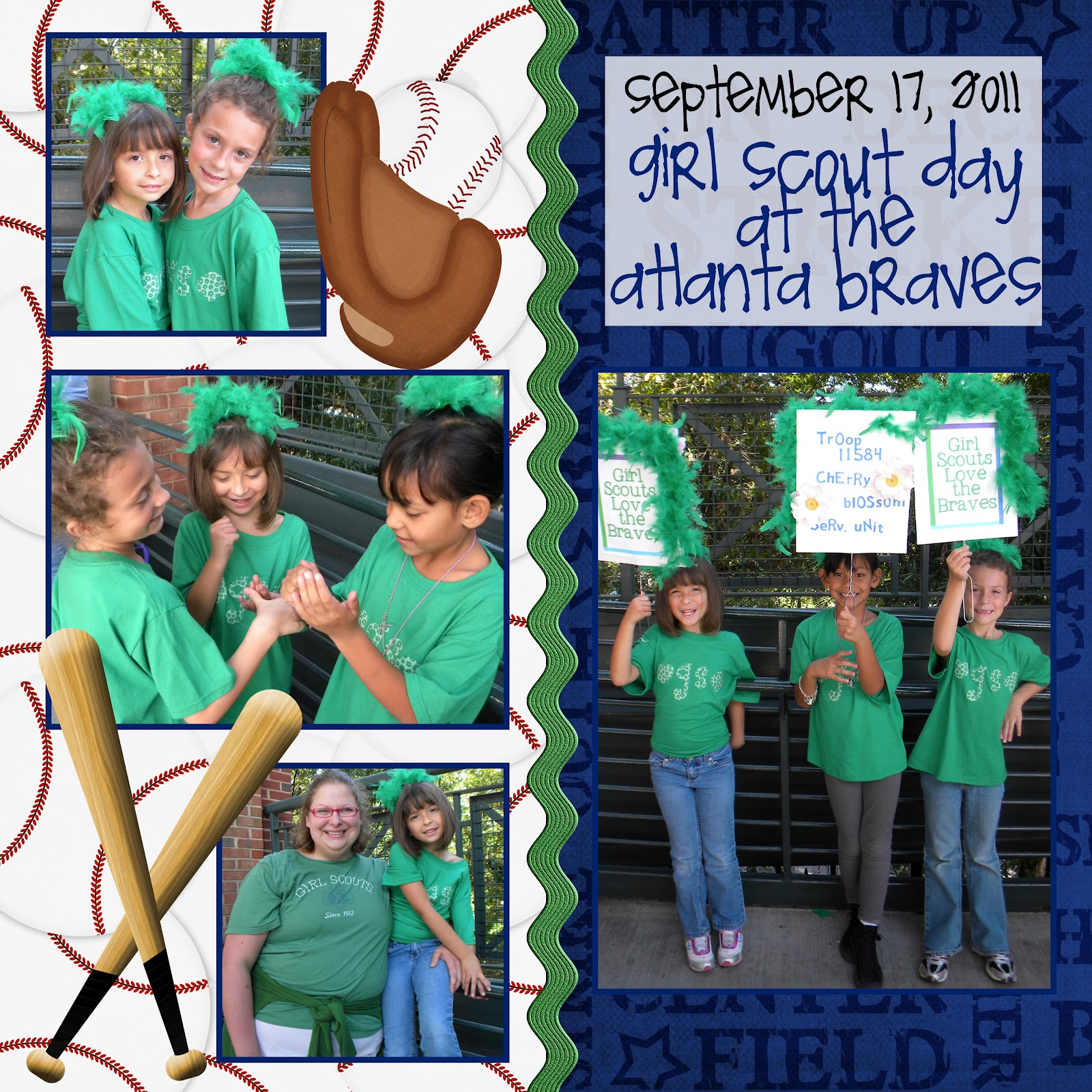 September 2011: Girl Scout Troop 11584: September 2011