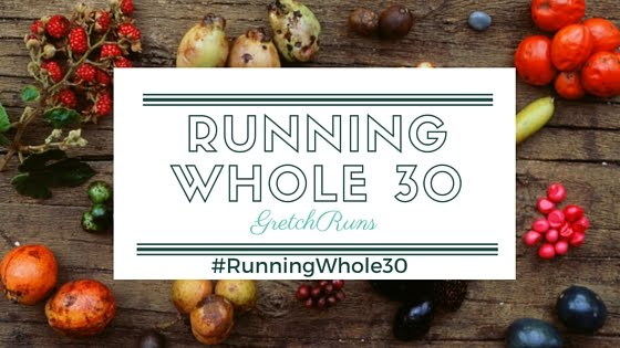 Whole 30 running meal plan