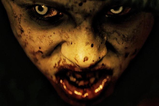 Horror Movie Scary Face