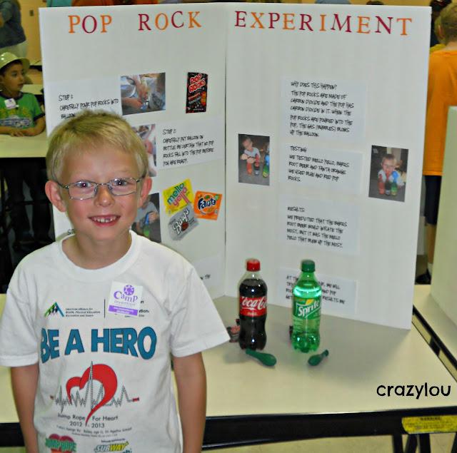 Pop Rocks Science Project