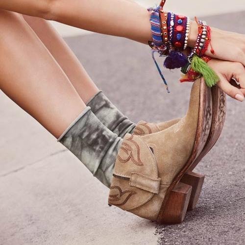 Folt mintás női zokni - bokacsizmához ajánlja a Calzedonia