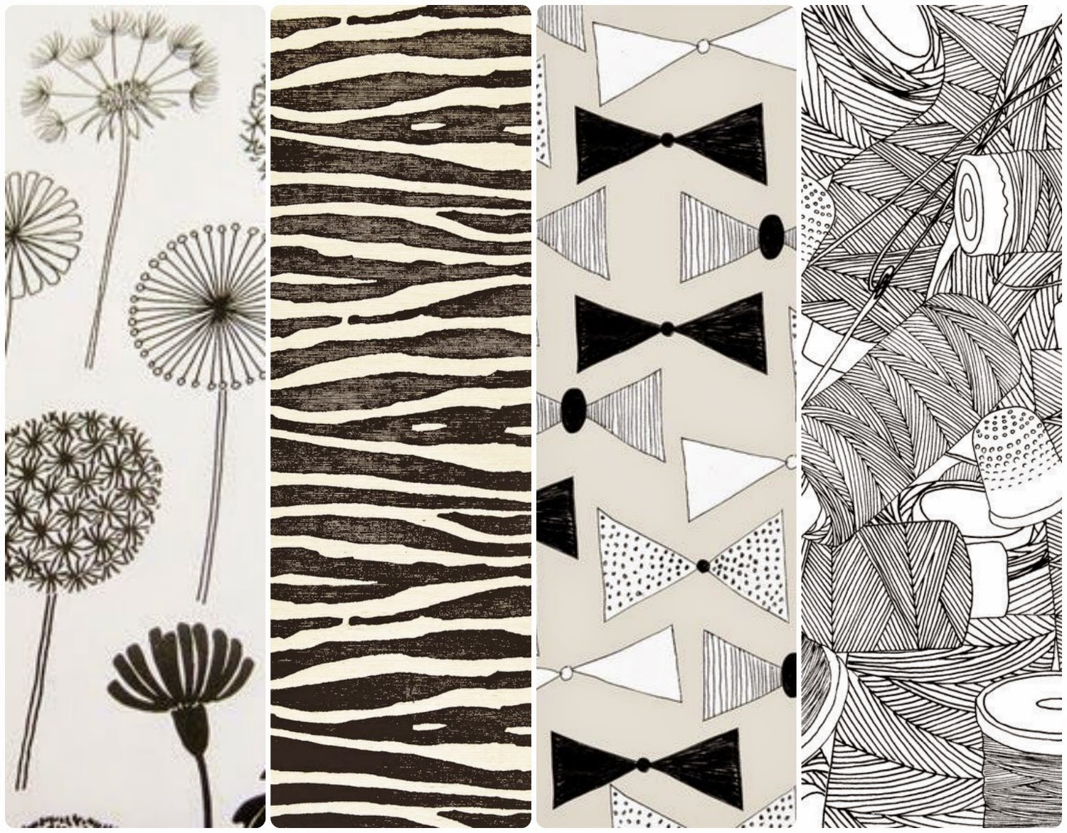 fondos de pantalla whatapp black & white, blanco y negro, gratis dandy lion, animal print bow ties, costura wallpaper illustration free iphone android