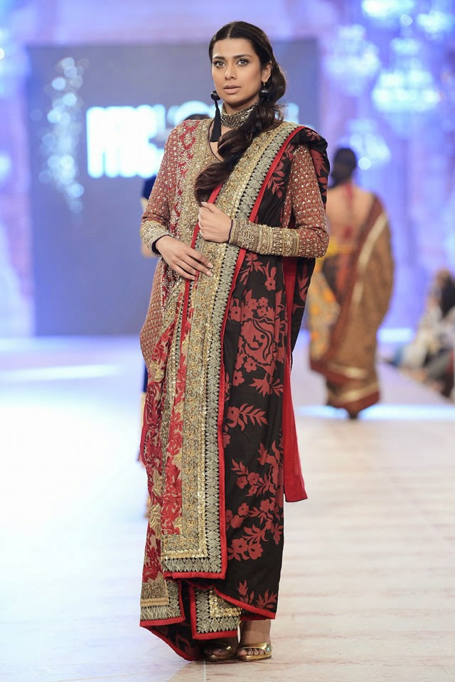 Sana Safinaz Collection at PFDC LOreal Paris Bridal Week 2014 - ooooch