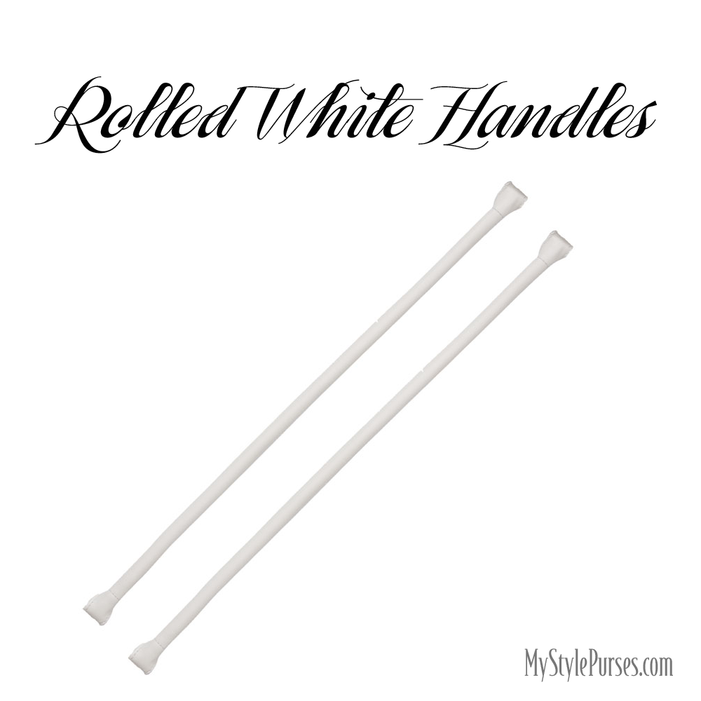 Miche Rolled White Handles available at MyStylePurses.com