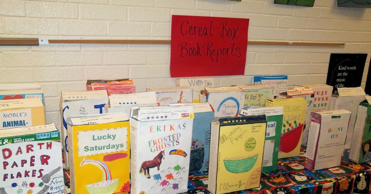 & Mrs. Graysonu0027s Garden: Cereal Box Book Reports Aboutintivar.Com