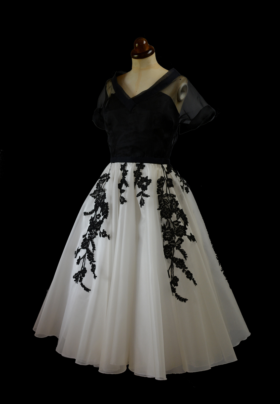 Alexandra king vintage inspired clothing nicole 39 s Grace kelly wedding dress design