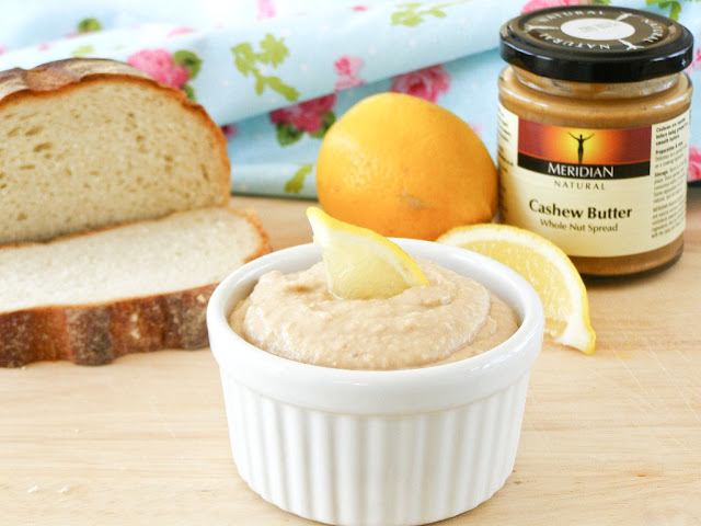 Zesty Cannellini Bean and Cashew Houmous