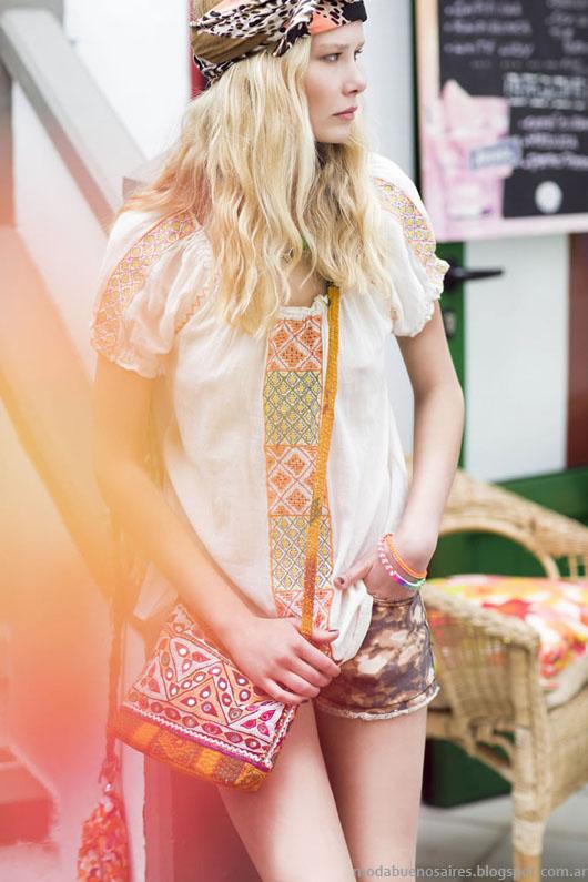 India Style túnicas primavera verano 2014.