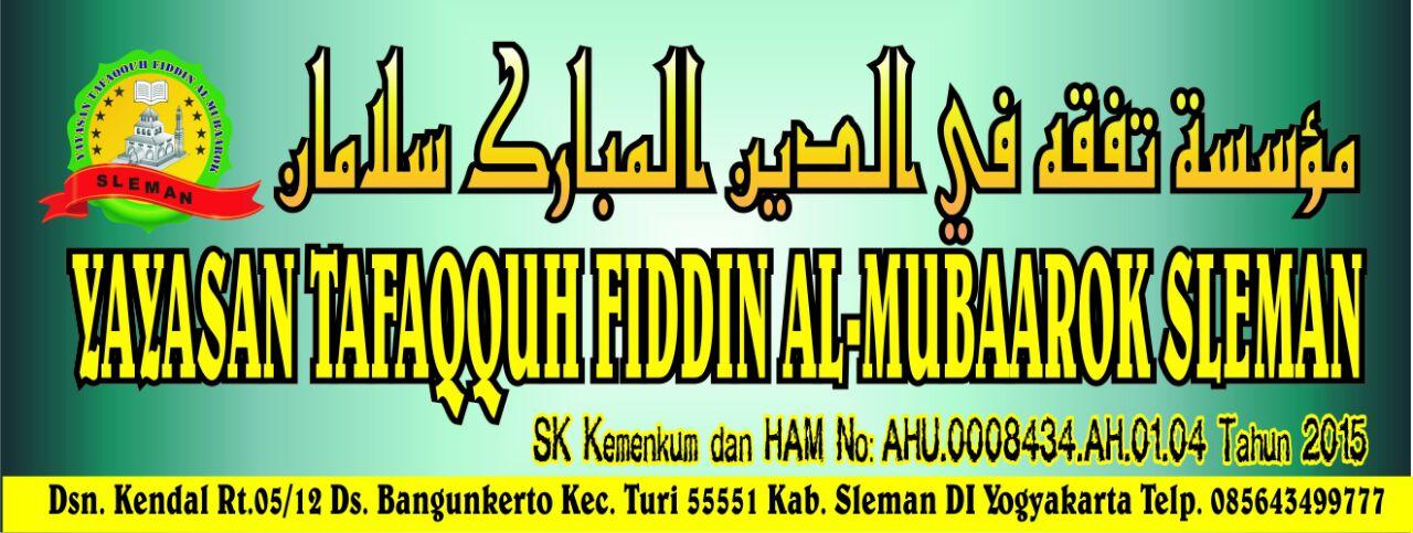 Yayasan Tafaqquh Fiddin Al mubaarok Sleman