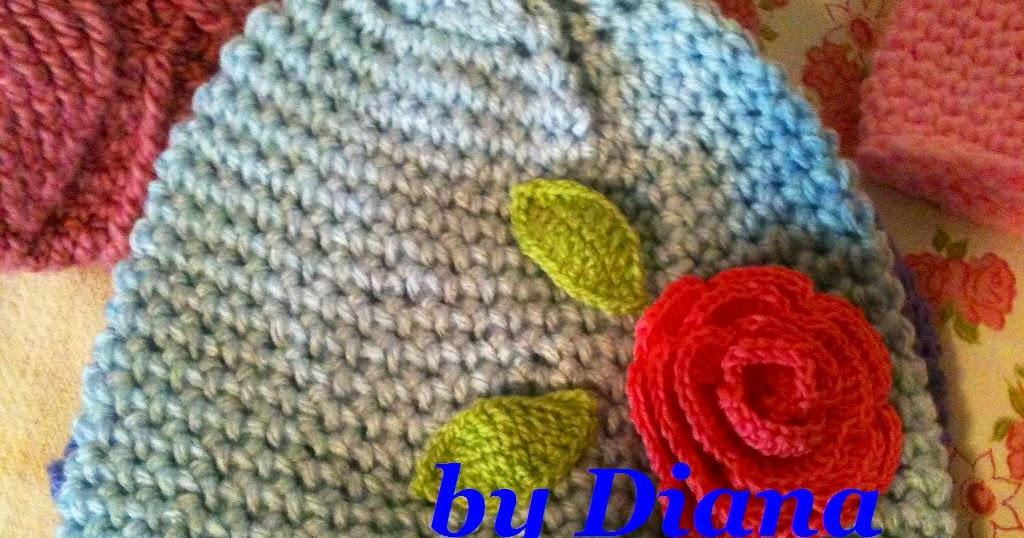 Diana es crochet: Gorros para niña en crochet