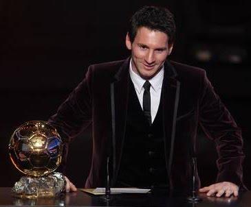 Messi Balón de Oro 2011