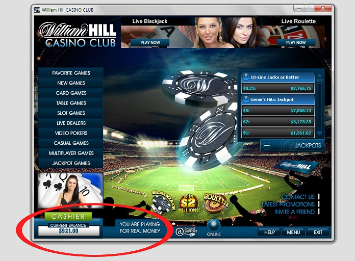 hill casino club