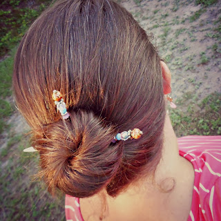 Lilla Roes, hair jewelry, hair, Flexi Clip, hair sticks, Freestyle