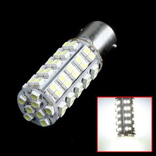 1156 BA15S 68 SMD 1210 LED Car Turn Tail Brake Light Lamp Bulb Indicator White