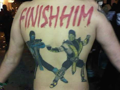 tattoo mortal kombat