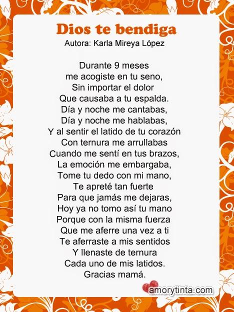 poema corto para el dia de la madre