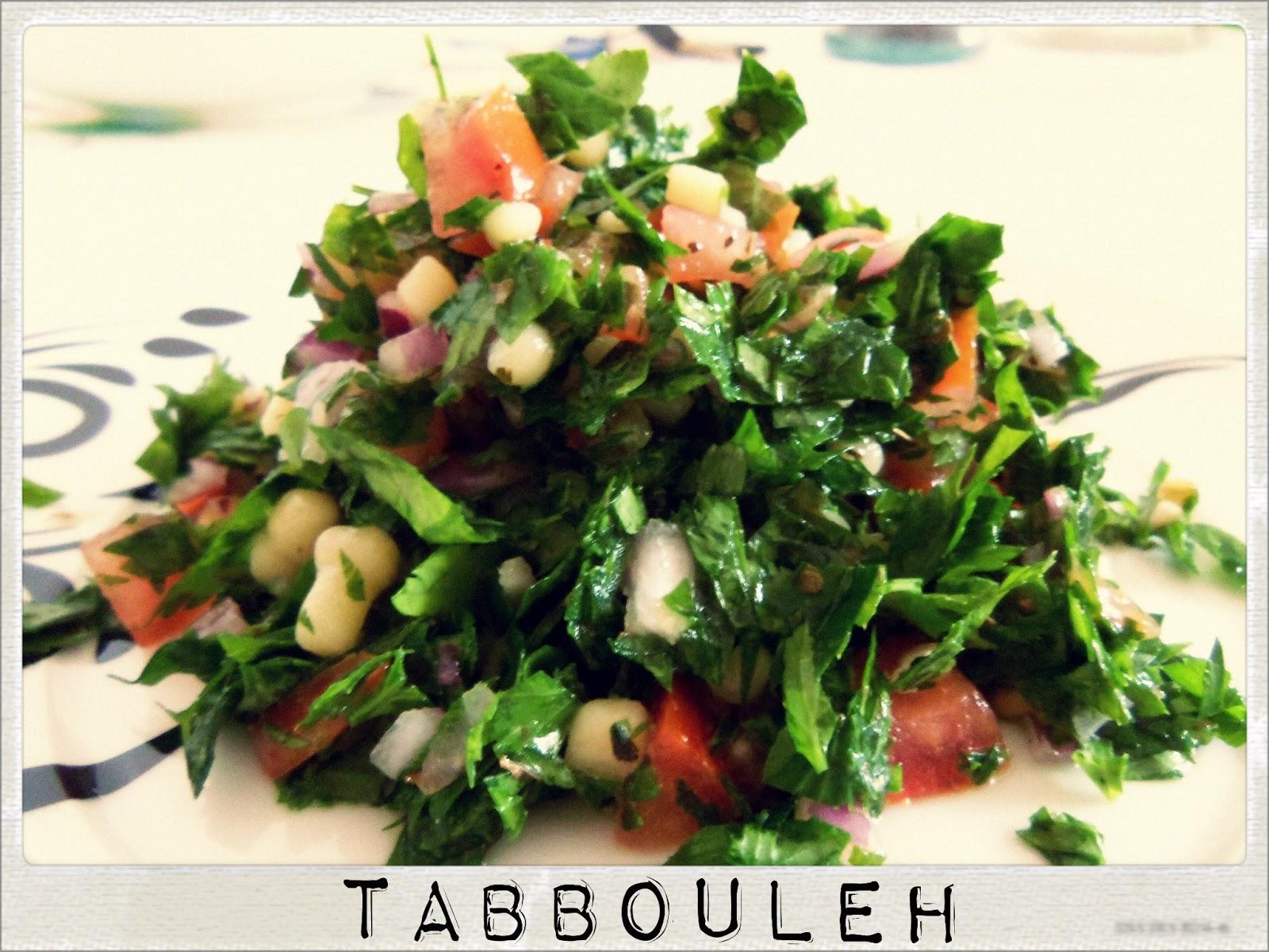 You've Got Meal!: Tabbouleh Salad/ Tabouleh/ Tabouli